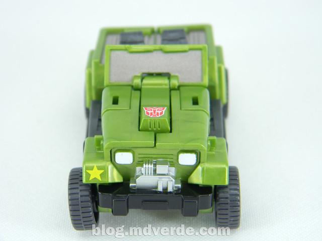 Transformers Hound EZ Collection - modo alterno