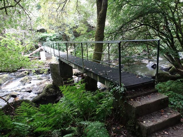 Puente de la Ruta de Zarzo a Chelo