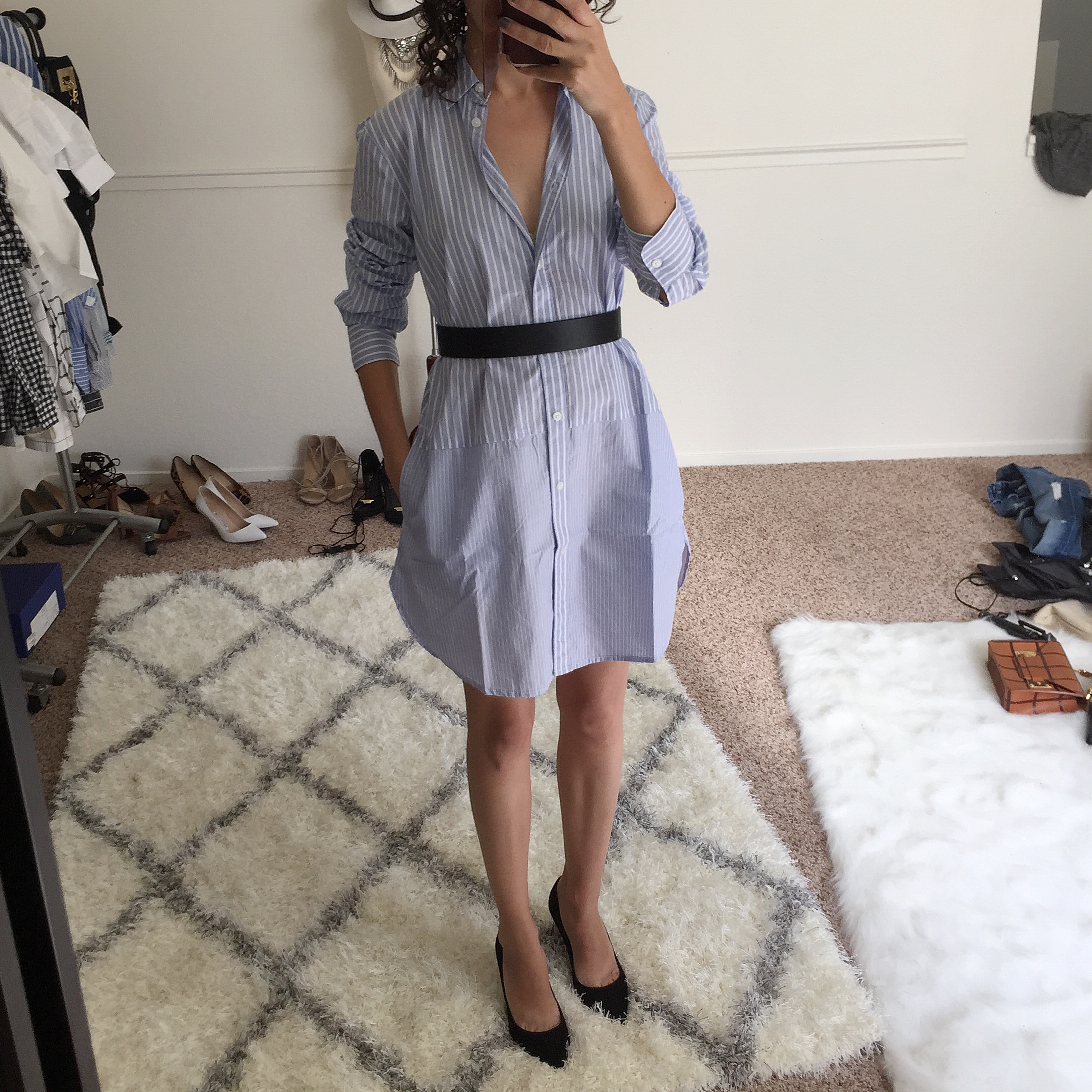 One Girl's Madewell Tunic is Another Girl's Shirt Dress – Fit Review Friday
