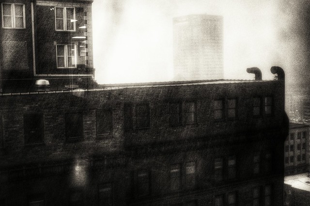 Downtown haunting