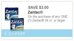photograph relating to Zantac Printable Coupon called zantac Archives - The Consumers Apprentice