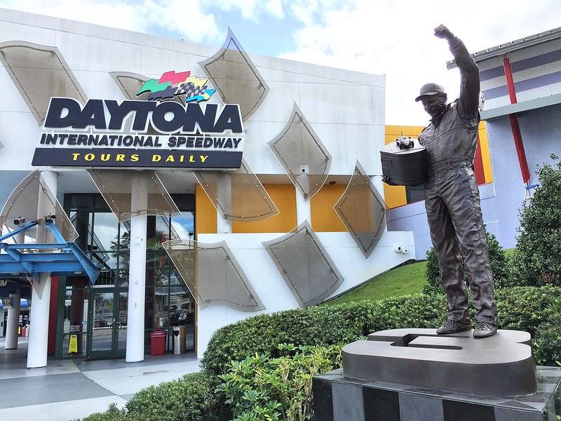 Daytona International Speedway in Daytona Beach, FL #lovedaytonabeach