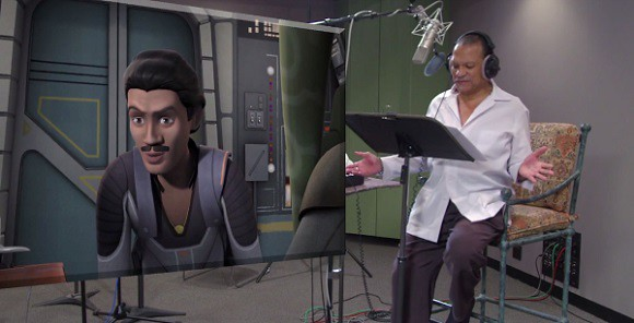 Billy Dee Williams voices Lando Calrissian in Star Wars: Rebels.