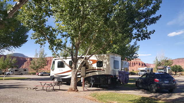 Charley's digs for the four days we were in Torrey outside Capitol Reef NP