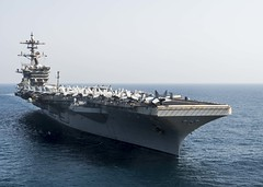 USS Theodore Roosevelt file photo. (U.S. Navy/MCSN Alex Millar)