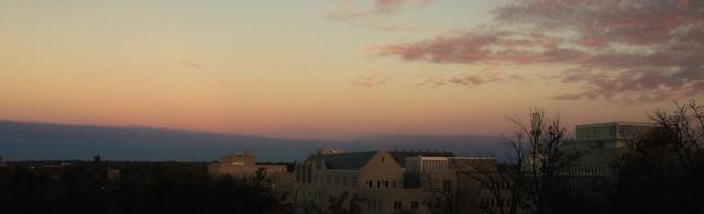 Morning Belt of Venus