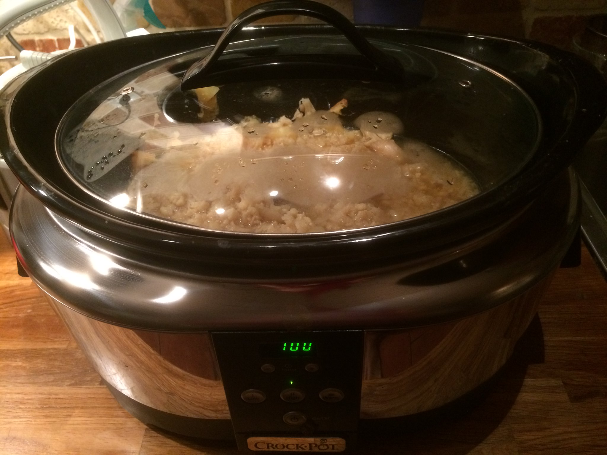 Soup in crock-pot