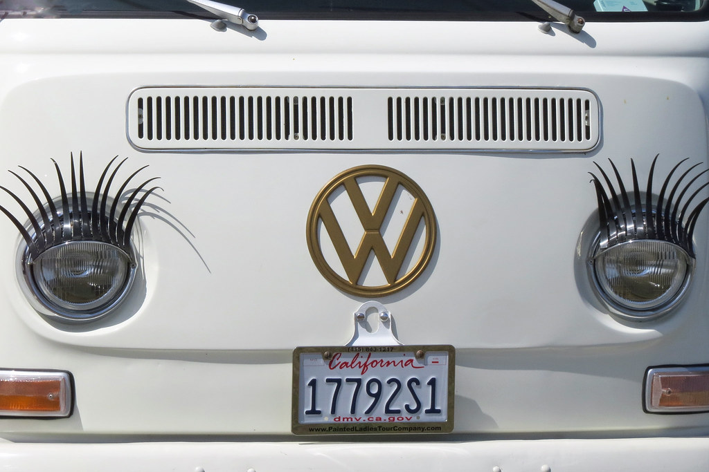 Vw Van With Eyelashes Ft Baker Marin County 150515 153242 Flickr