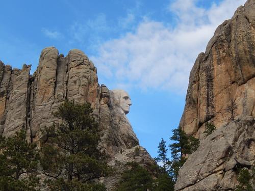 Mount Rushmore - Wahington profiel