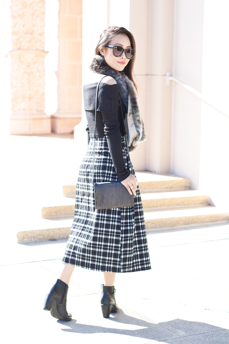 07-sf-fall-black-fur-plaid-tartan-fashion-style