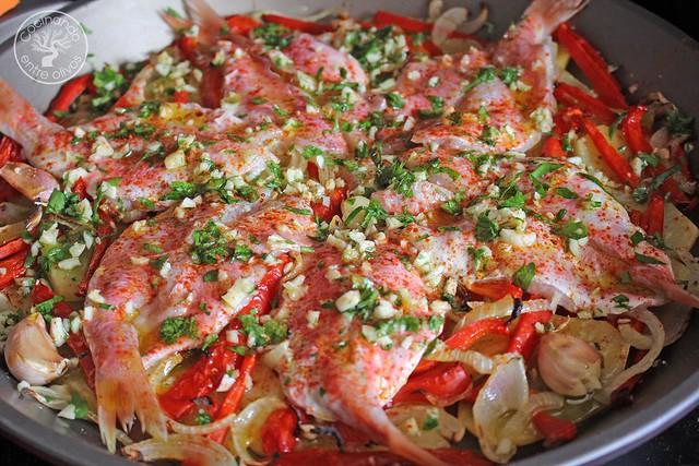 Salmonetes al horno www.cocinandoentreolivos.com (15)