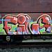 graffiti on freights by wojofoto