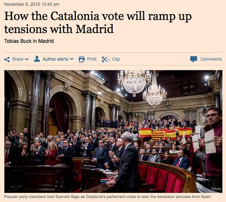 15k09 FT El voto de la desconexción favorecerá a Rajoy