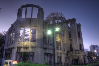A-Bomb Dome at Hiroshima in early morning on OCT 28, 2015 (6)
