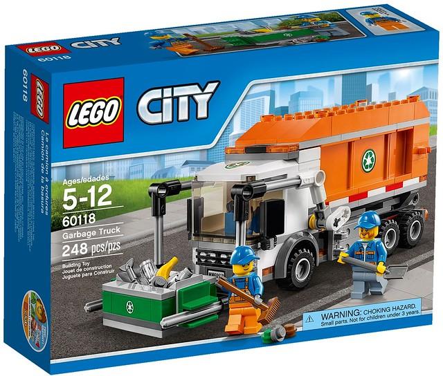 LEGO City 2016: 60118 - Garbage Truck