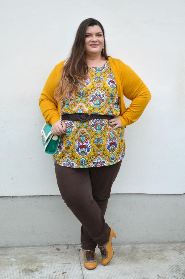 Outfit marrone e senape (4)