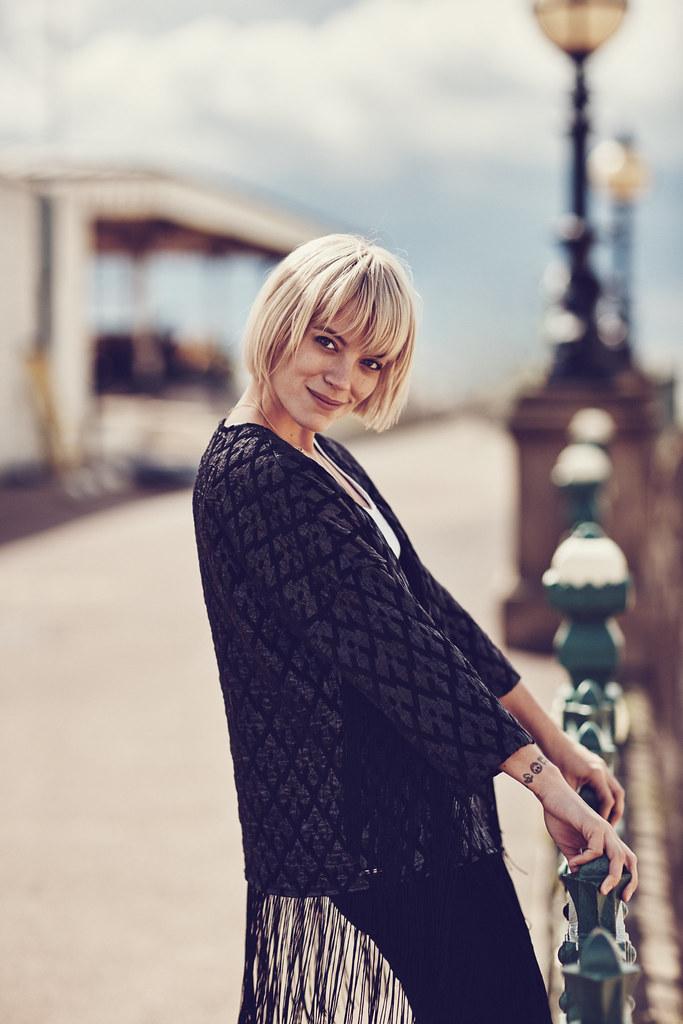 Лили Аллен — Фотосессия для «Vero Moda» Осень 2015 – 11