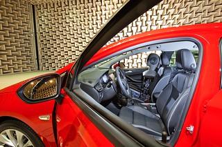 Der neue Opel Astra im Akustiklabor