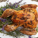 Dry brined turkey with herb butter