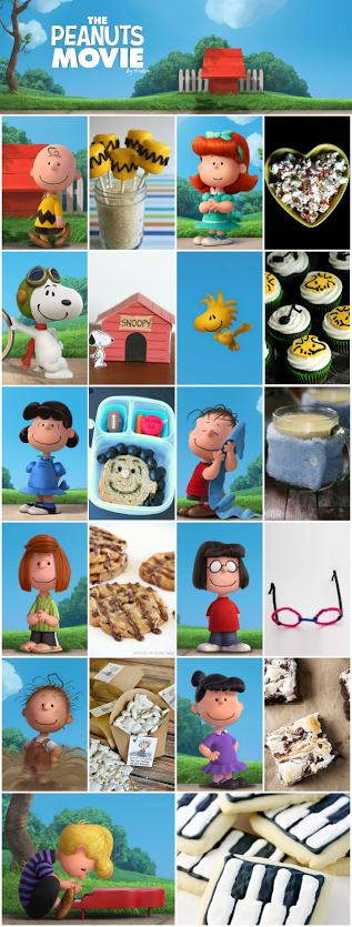 Recipes inspired by the new Peanuts movie!