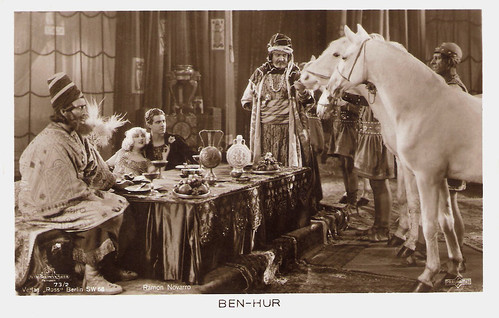 Ramon Novarro and Carmel Myers in Ben-Hur: A Tale of the Christ (1925)
