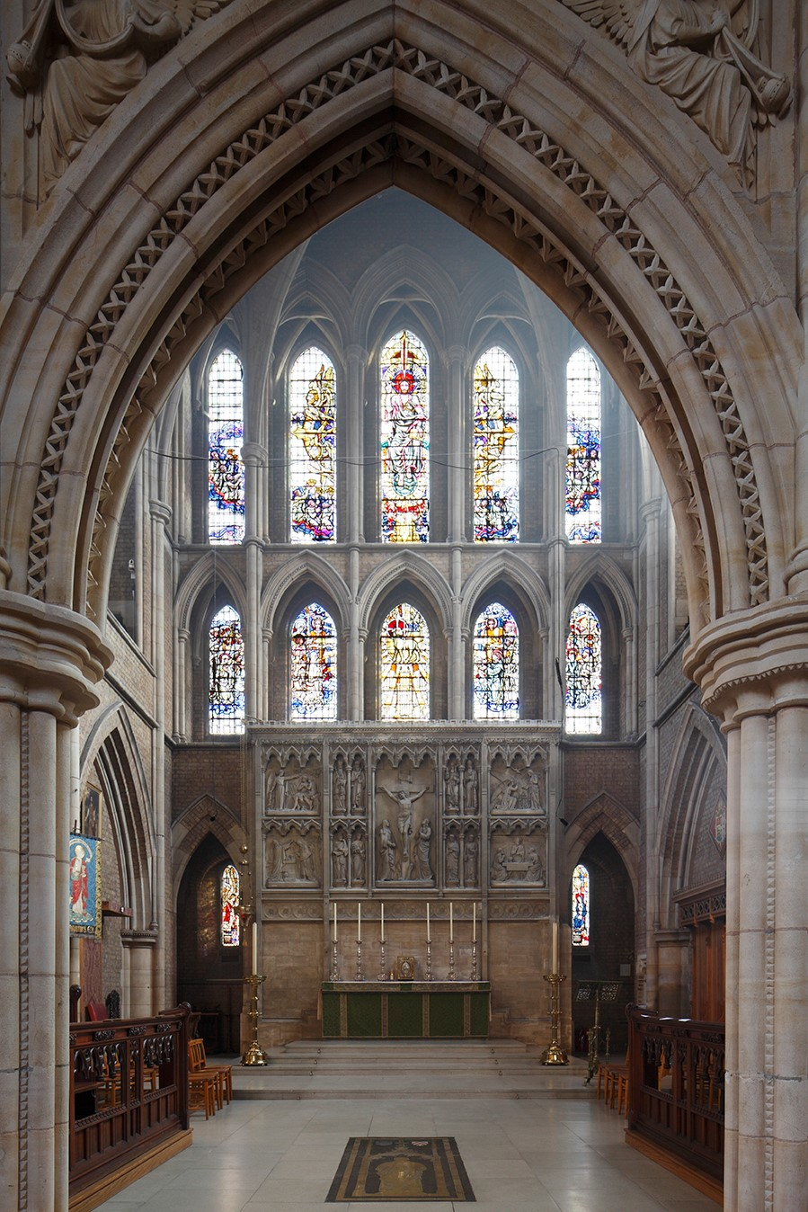 St John the Evangelist, Upper Norwood SE19 2RX Photography - MUST CREDIT (c) James Balston