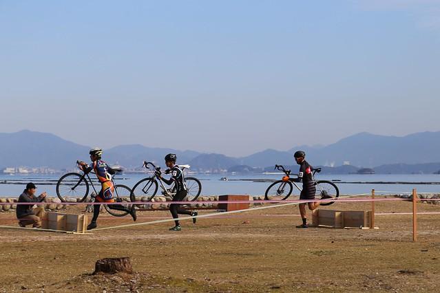 中国シクロクロス 広島第5戦宮島