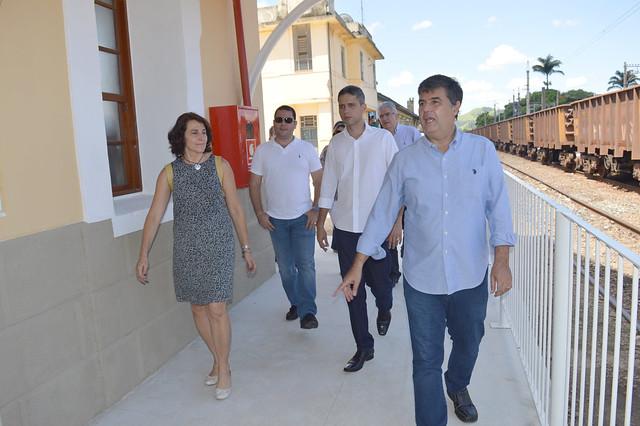 Inauguração da Estação Ferroviária de Barão de Juparanã - 18-12-2015 - André Corrêa