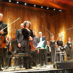 David Sedaris and the BBC Symphony Orchestra. Extraordinary story telling and music. #christmas #sleighbells #stories