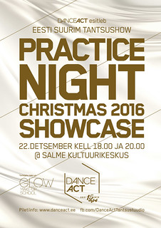 DanceAct Practice Night Christmas 2016 Showcase