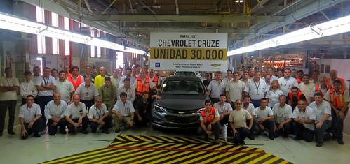 Chevrolet Cruze Unidad 30.000
