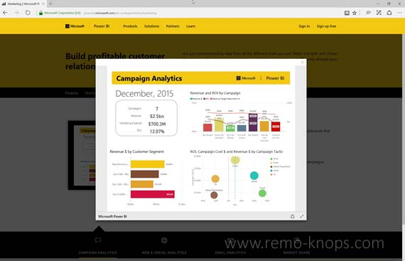 Power BI Desktop – Visualize your data 73