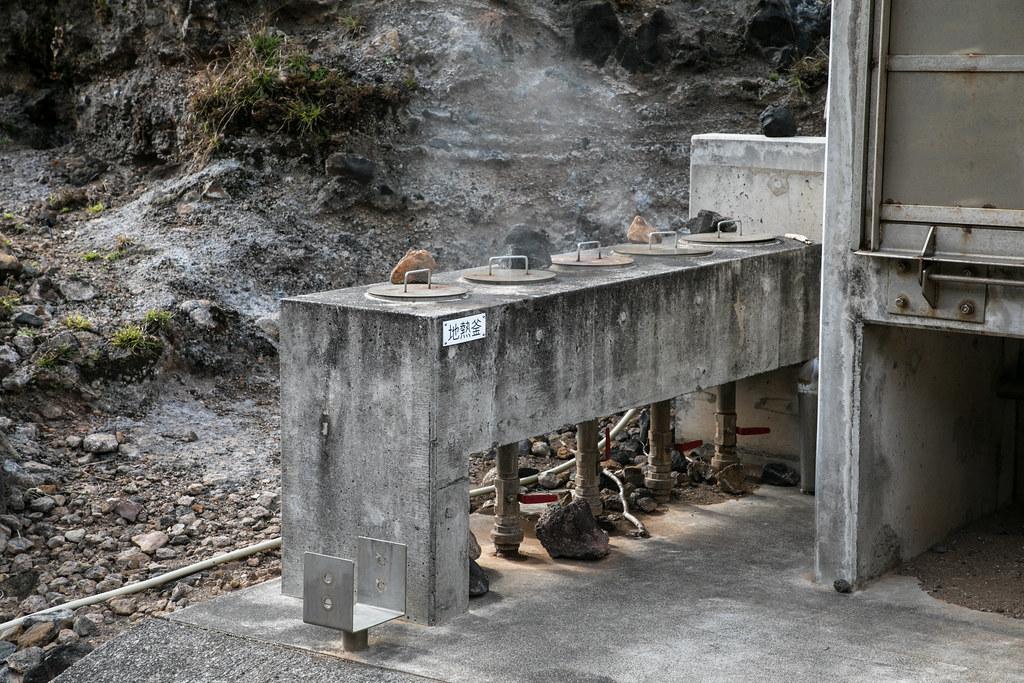 地熱釜とサウナ 青ヶ島 取材 #tamashima #aogashima