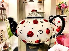 Fancy Ladybug Teapot