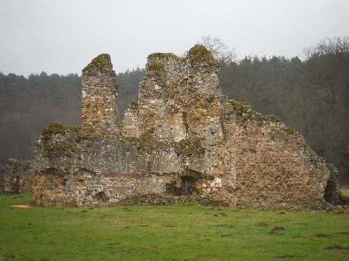 Part of Waverley Abbey Ruin