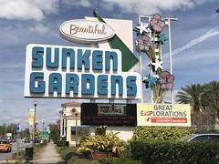 2017-03 - St Petersburg, Florida - Sunken Gardens