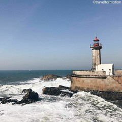 #lighthouse #atlantic #ocean #porto #oporto #porto_ig #visitporto #portugal #loves_porto #portolovers #wanderlust #travel #travelgram #vsco #vscocam #guardiantravelsnaps #guardiancities #citytrip #travelphotography #igers_porto #visitportoandnorth #ig_tra