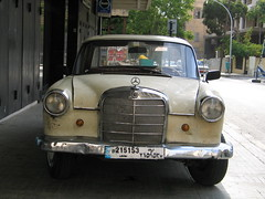 mercedes-benz w120(0.0), automobile(1.0), automotive exterior(1.0), vehicle(1.0), mercedes-benz(1.0), compact car(1.0), mercedes-benz w111(1.0), antique car(1.0), classic car(1.0), vintage car(1.0), land vehicle(1.0), luxury vehicle(1.0), motor vehicle(1.0), classic(1.0),