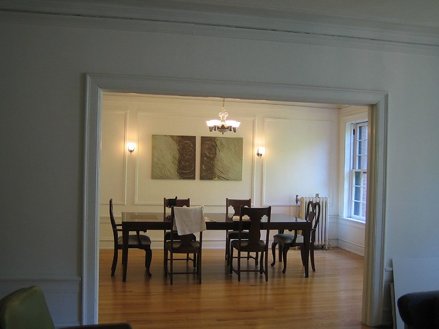 new sconces in dining room | Flickr - Photo Sharing!