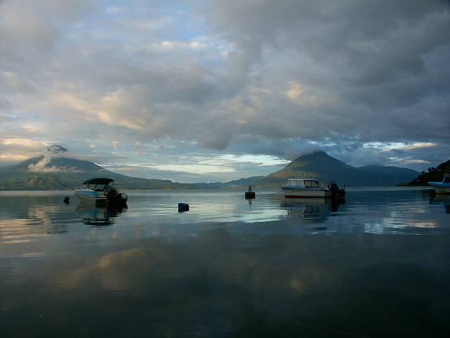 Lake Atitlan - Sunrise