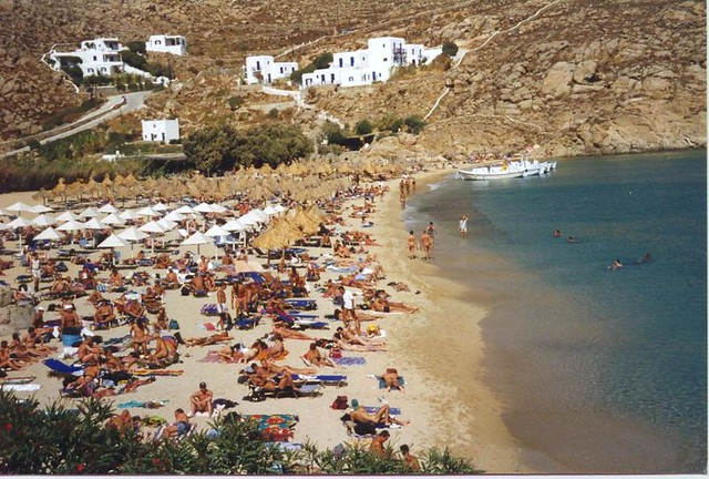 Greek Nude Beach  This Is The Super Paradise Nude Beach In   Flickr-8915