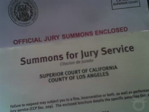 Time For Jury Duty