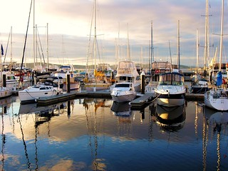 Morning at Hobart Waterfront