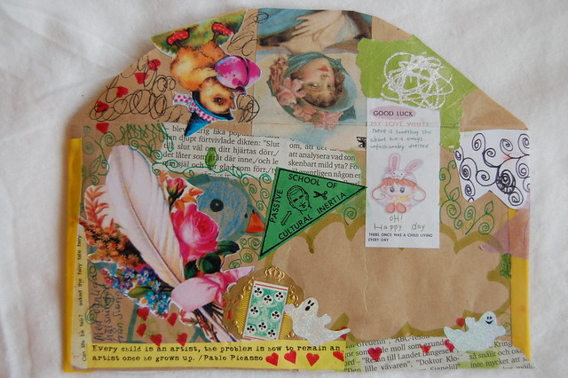 Envelope for mail art