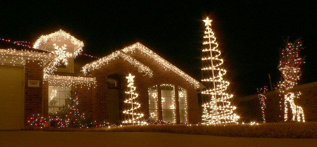 Christmas lights - right side