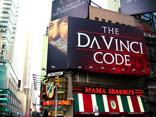 "Foto ""The Da Vinci Code ad"" by vipeldo - flickr"