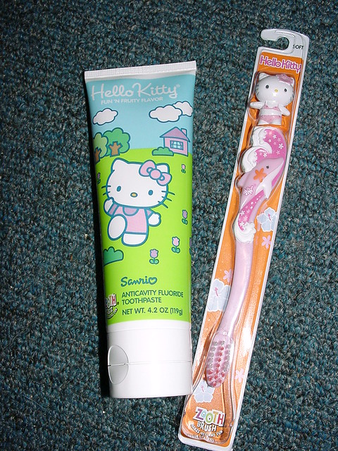Kids Toothbrush and Toothpaste | Flickr - Photo Sharing!