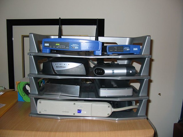 The 8 Home Network Rack Flickr Photo Sharing