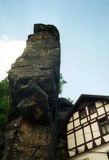 Bastei ja talo