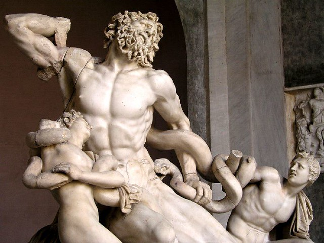 The Laocoon Group - Vatican Museum